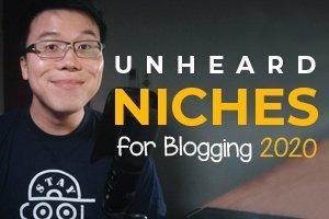 Unheard of Niches for Blogging