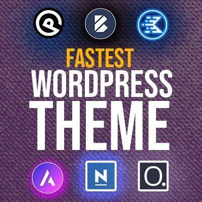 Most Lightweight and Fastest WordPress Theme